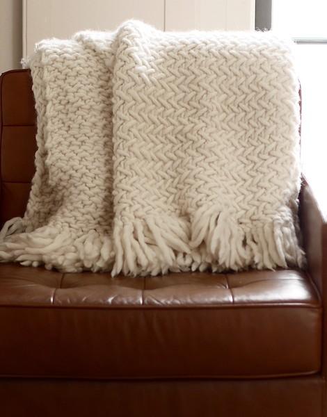 Knitting Pattern For Incubator Blanket : Koselig Blanket Pattern Knitting Pattern WOOL AND THE GANG