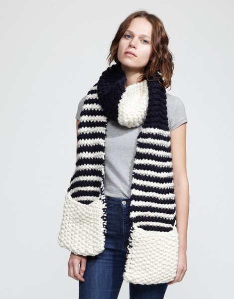 Free Knitting Patterns For Scarves With Pockets : Knitting Patterns Free Scarf Pocket images