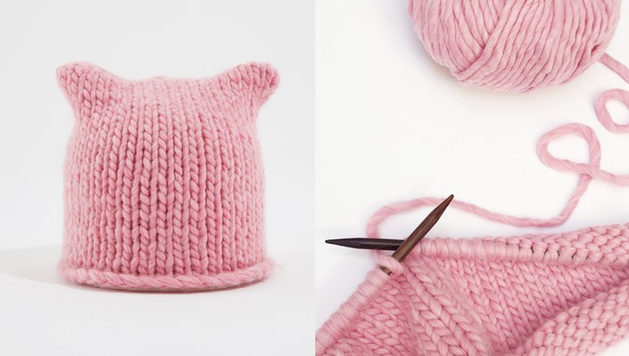 Katknits Pussy Hat Free Pattern Knitting Wool And The Gang