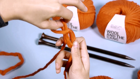 How to knit a scarf | Knitting | WOOL AND THE GANG