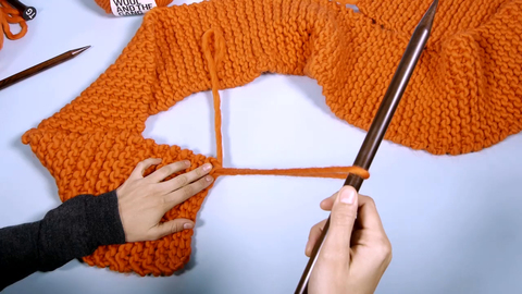 15 how to knit a scarf charlotte