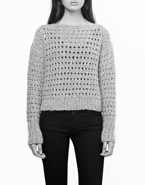 Hole in One Sweater | Women | Knitting Kit | WOOL AND THE GANG