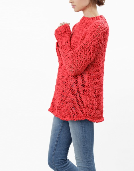 Summer Breeze Sweater | Women | Knitting Kit | WOOL AND THE GANG