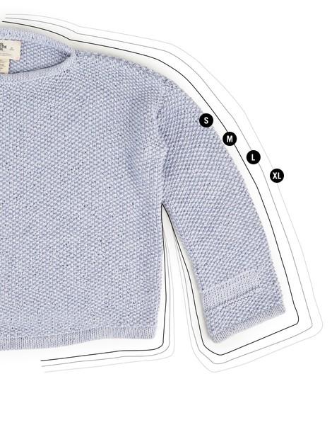 Julia Sweater | Women | Knitting Kit | WOOL AND THE GANG