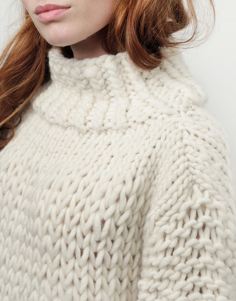 Wonderwool Sweater | Women | Knitting Kit | WOOL AND THE GANG