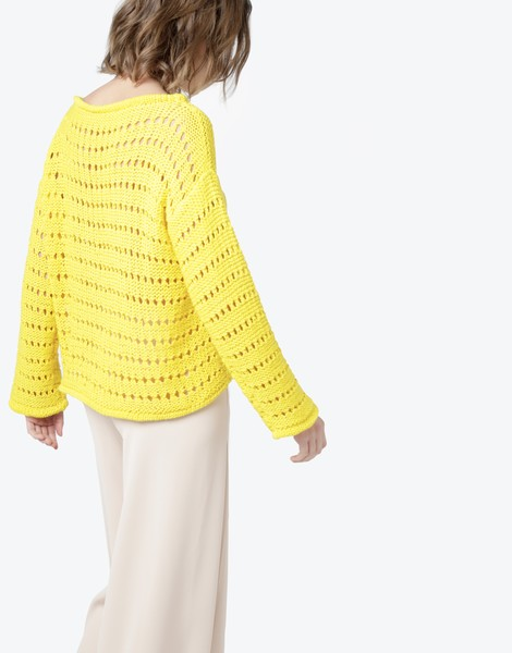 1 cosmicsweater yellow