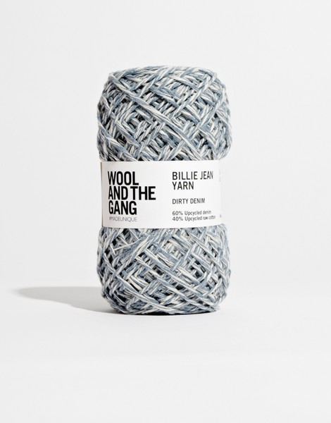 Billie jean yarn dirty denim