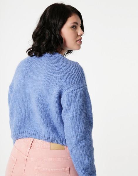 Knitting Jumper Kits : Kiss me quick jumper women knitting kit wool and the