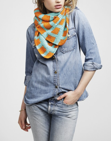 Check Mate Scarf by our Peruvian Gang