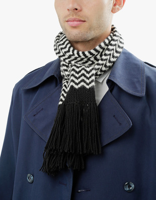 Man In Me Scarf Pattern