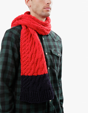 Nobody's Wool Scarf Pattern