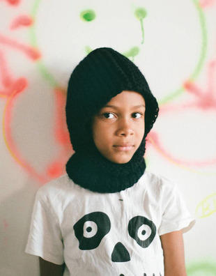 Off Piste Hood For Kids Pattern