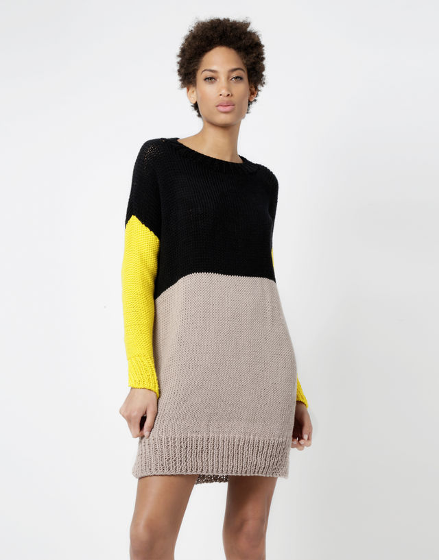 Rock With You Sweater Dress