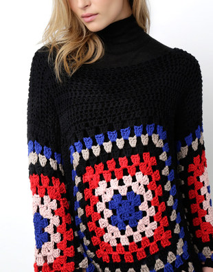 Dot Cotton Sweater Pattern