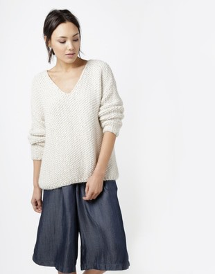 Paradis V Neck Sweater