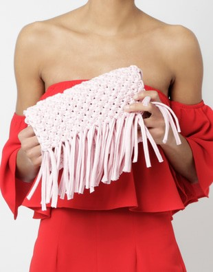 Forget Me Knot Clutch