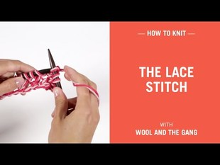 The lace stitch