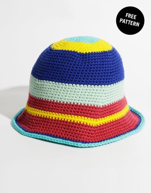 Marley Bucket Hat Free Pattern