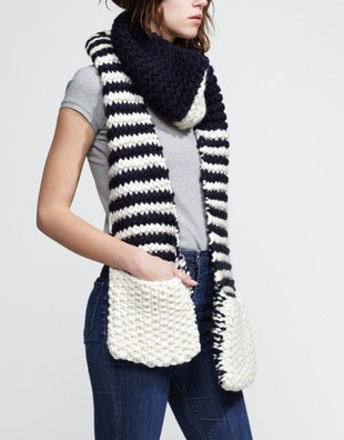 Striped Jolly Pocket Scarf