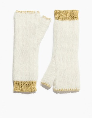 Knits of Gold Mittens