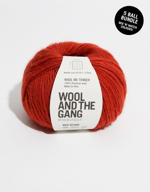 Wool Me Tender Bundle - 5 balls
