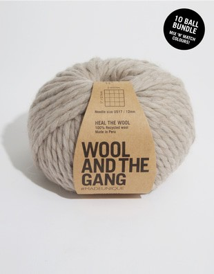 Heal The Wool Bundle 10 balls