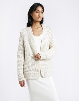 Cocoon Cardigan Knitting