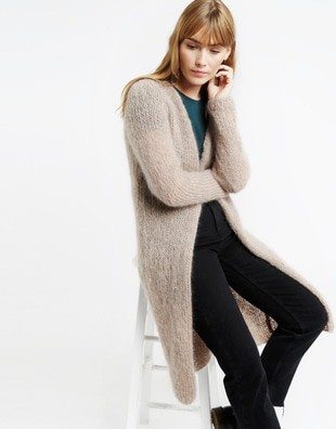 Delia Cardigan Knitting Kit