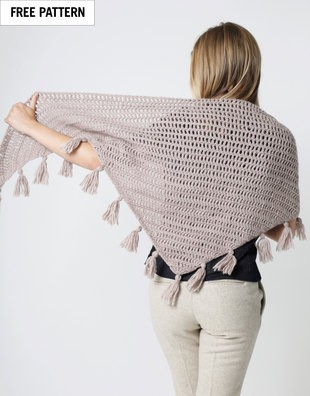 Stuck On You Shawl Free Pattern
